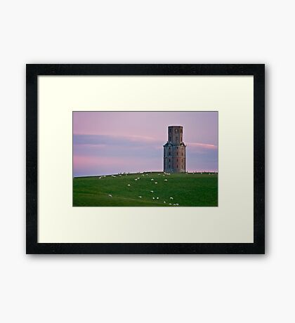 Kahren's Tower Framed Print