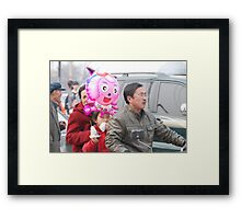 Ping Yao - Chinese family. Framed Print