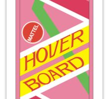 Back to the Future Hover Board Sticker