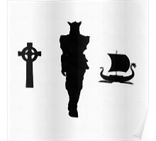 Icons - Vikings by Pierre Blanchard Poster