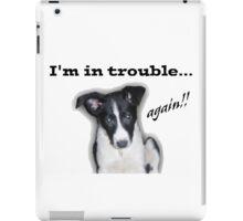 I'm in Trouble... Again!!! iPad Case/Skin