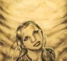 Cloudy shiny woman by Janne Flinck