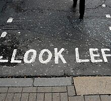 Look left by Thomas Spiessens