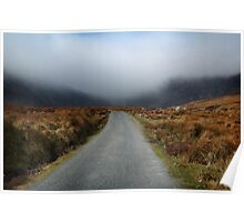 mist on the Comeragh Mountains Poster