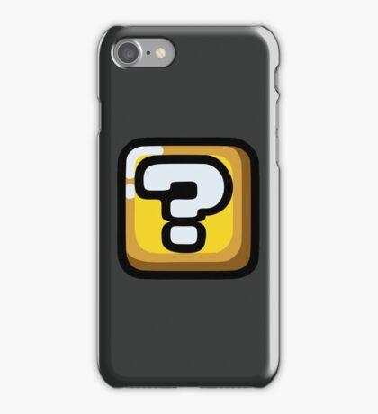 Question Block iPhone Case/Skin