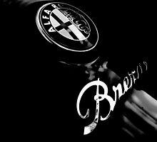 Alfa Romeo Brera badge by Paul Jarrett