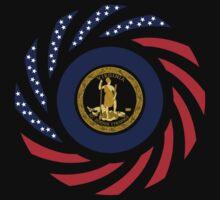 Virginian Murican Patriot Flag Series Baby Tee
