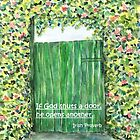 God opens doors by Caroline  Lembke