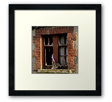 Blowin in the Wind Framed Print