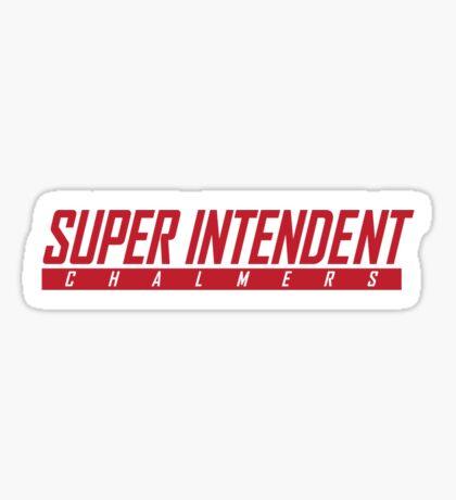 Super Nintendo Chalmers Sticker