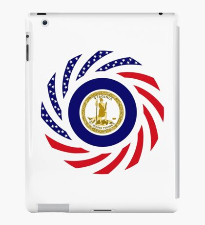 Virginian Murican Patriot Flag Series iPad Case/Skin