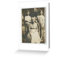 Wade & Sandifer Estate / Grandma James, Earl abt 1918 Greeting Card
