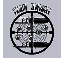 Haven Team Dwight Bullet Magnet Black Logo Photographic Print
