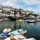 Brixham harbour art 2 by StephenRB