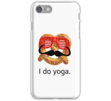 I do yoga. iPhone Case/Skin