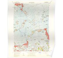 Massachusetts  USGS Historical Topo Map MA Hull 350219 1958 24000 Poster
