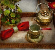 Kitchen - Formal tea ceremony by Mike  Savad