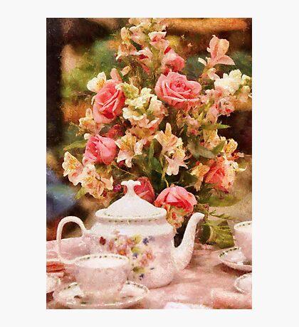 Kitchen - More tea Milady Photographic Print