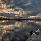 Dusk Over Middlesbrough by WhartonWizard