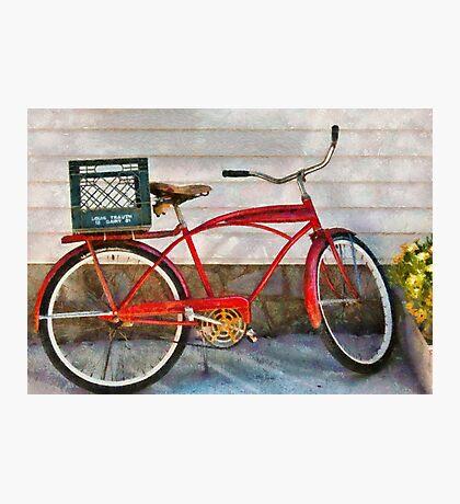 Bike - Delivery Bike Photographic Print