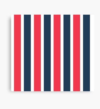 Bowie Stripe pants Canvas Print