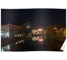 Margaritas/Merrimack river Poster