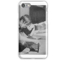A moment with Daryl Dixon iPhone Case/Skin