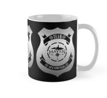 Haven Team Wuornos Silver Police Badge Logo 2 Mug