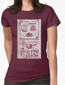 """Exclusive: """" cooking """" / My Creations Artistic Sculpture Relief fact Main 38  (c)(h) by Olao-Olavia / Okaio Créations Womens Fitted T-Shirt"""
