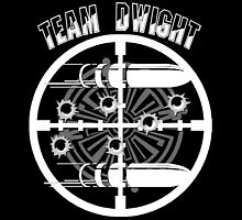Haven Team Dwight Bullet Magnet White Logo by HavenDesign