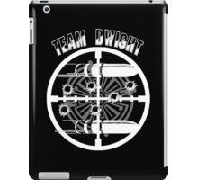 Haven Team Dwight Bullet Magnet White Logo iPad Case/Skin