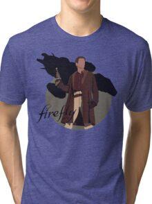 "Firefly ""Malcolm Reynolds"" Tri-blend T-Shirt"