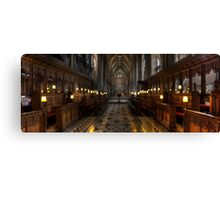 Cathedral Panoramic Canvas Print
