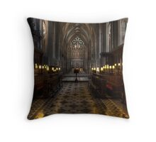Cathedral Panoramic Throw Pillow
