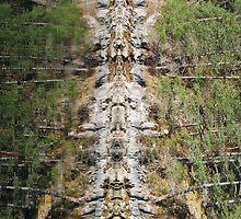 Rare Westcoast Totem Pole (please read description!) by Lisa Baumeler