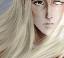 Thranduil - so comes snow after fire Sticker