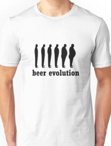 beer evolution Unisex T-Shirt