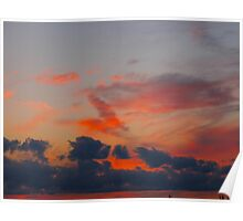 Tropicana infusion clouds Poster