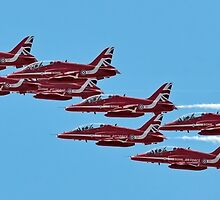 The 2015 Red Arrows  by © Steve H Clark Photography