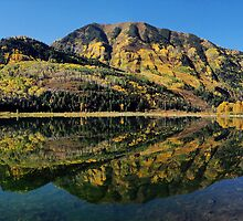 Fall reflected in the Beaver lake by algill