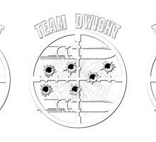 Haven Team Dwight Bullet Magnet White Logo 2 by HavenDesign