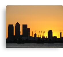 North Greenwich Canvas Print