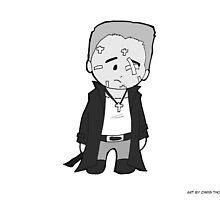 Chibi Marv (From Sin City) by Chris Thomasma