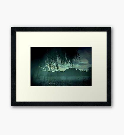 Misty Rain ©  Framed Print