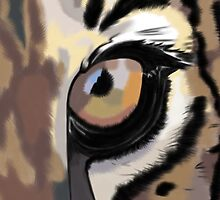 Eye of the Tiger by CharityDawnArt