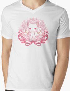 Kyubey Mens V-Neck T-Shirt