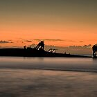 Tangalooma Wrecks by GayeL Art