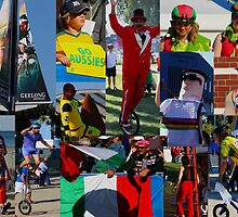 Colourful characters of Geelong UCI  by Deb Gibbons