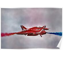Red Arrows Painting the Sky 2015 Poster