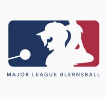 Major League Blernsball (White) by Grant Thackray
